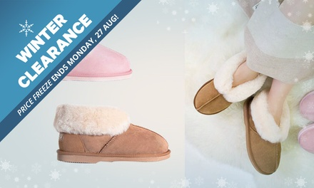 WINTER CLEARANCE: $45 for a Pair of Ever UGG Unisex WaterResistant Ankle Slippers Don't Pay $145