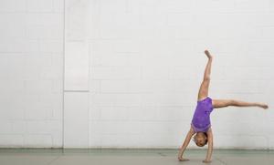 Rock & Roll Gymnastics: Four Weeks of Gymnastics Classes at Rock & Roll Gymnastics (55% Off)