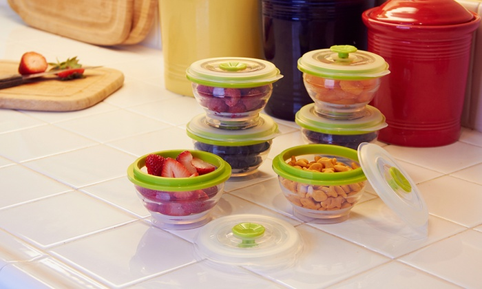 6 Collapse It Food Containers Groupon Goods