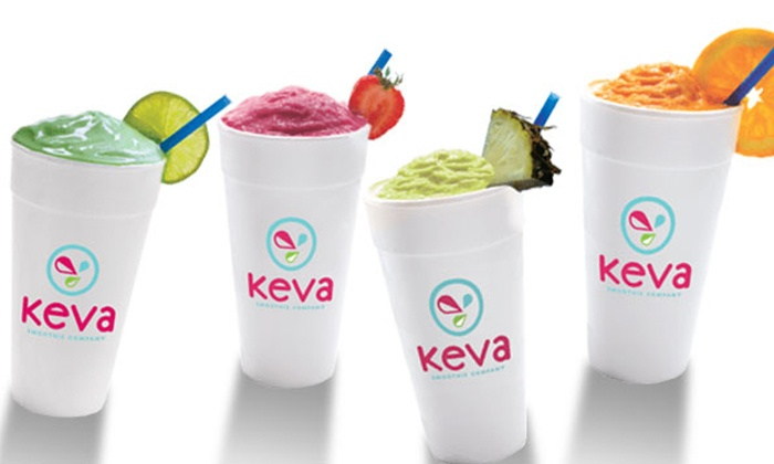 Keva Smoothie Company - High Crest: $10.50 for 3 Groupons, Each Good for $6 Worth of Smoothies at Keva Smoothie Company ($18 Total Value)