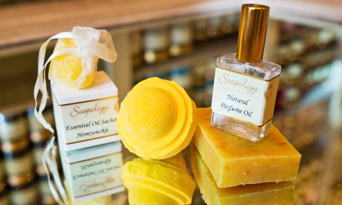 Soapology - New York: Luxury Bath Products at Soapology (Up to 46% Off). Five Options Available.