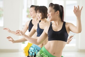 Fitness A To Z: Five Dance-Fitness Classes at Fitness A to Z (Zumba Fitness Studio) (63% Off)