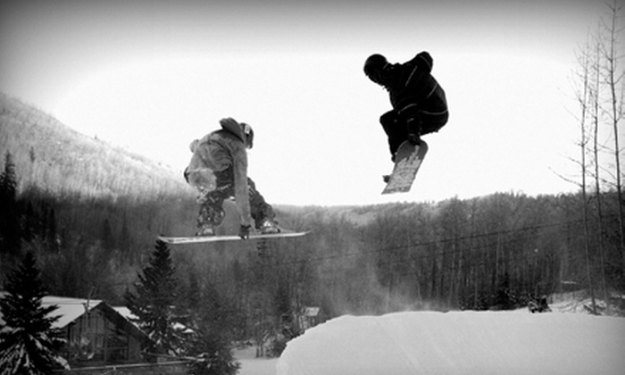 Canyon Ski Resort - Red Deer: Weekend Lift Tickets for 2, or Weekday Lift Tickets with Option for Rentals for 2 at Canyon Ski Resort (Up to 51% Off)