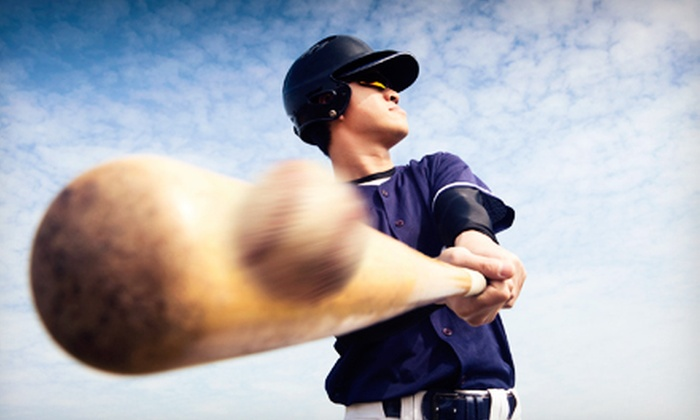 Prospect Sports - East Farmingdale: Two or Four 30-Minute Batting-Cage Rentals with Optional Private Lessons at Prospect Sports (Up to 73% Off)