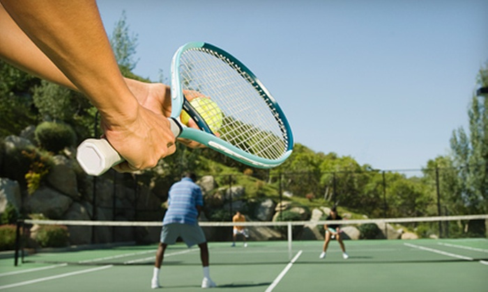 Greensboro Tennis Program - Multiple Locations: Adult Tennis-Tournament Entry for Singles, Doubles, or Both from Greensboro Tennis Program (Up to 52% Off)
