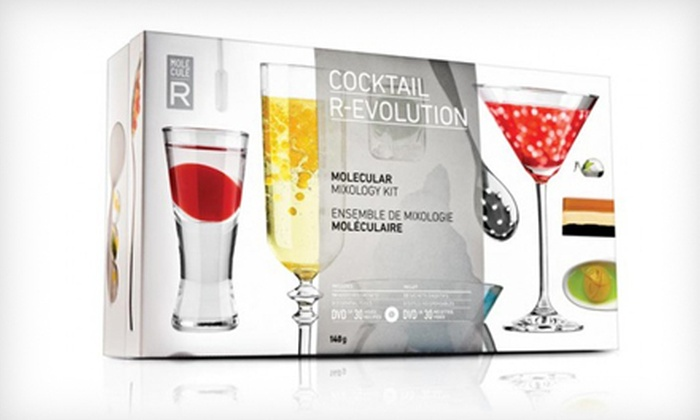 Molecule-R Gastronomy Kits: $29 for a Molecule-R Gastronomy Kit or Cocktail Kit with Silicone Mold ($77.90 List Price)