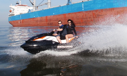 2-Hour Tandem Jet-Ski Rental or 2.5-Hour Jet-Ski Tour for Two from Vancouver Water Adventures (Up to 50% Off)