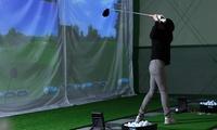 インドアゴルフなので天候に左右されずに練習ができる≪ゴルフフリー打席 1カ月(回数無制限)/他1メニュー≫男女利用可 @SWiNGER