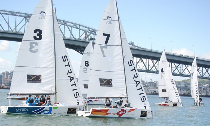 Royal New Zealand Yacht Squadron - Auckland: $450 for Five Three-Hour Sailing Lessons or Two Full-Day Lessons at Royal New Zealand Yacht Squadron