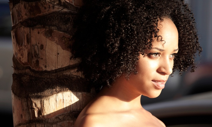 Ashli Walker - Dunwoody: A Deva Haircut for Curly Hair, Regular Haircut, or Steam Hydration Treatment by Ashli Walker (Up to 53% Off)