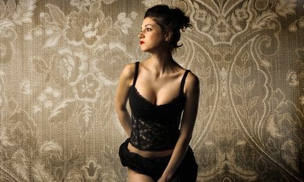 $49 for a Boudoir Photo-Shoot Package from Brave Photo ($107.89 Value)
