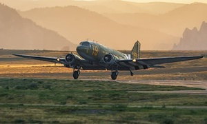 Greatest Generation Aircraft: 30-Minute Flight Above DFW in a Douglas C-47 for 1, 2, or 4 from Greatest Generation Aircraft (Up to 75% Off)