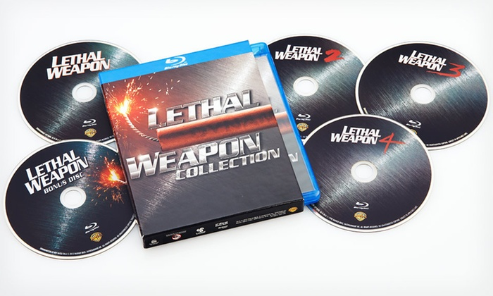 Lethal Weapon Blu-ray Collection: $35.99 for the Lethal Weapon Complete Collection on Blu-ray ($79.98 List Price). Free Shipping and Free Returns.