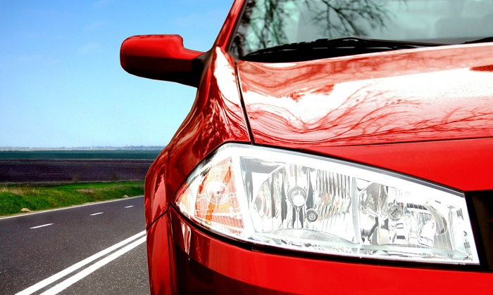 HYE Class Auto Detail - Citrus Heights: $44 for Headlight Restoration for Two Headlights at HYE Class Auto Detail ($79.98 Value)