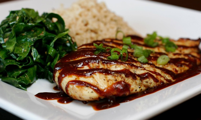 The Chicken Way - Coral Way: $15 for Three Groupons, Each Good for $10 Worth of Healthy Cuisine at The Chicken Way ($30 Total Value)