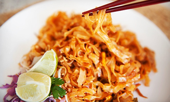 Thai Express - Chapel Hill South: Thai Cuisine at Thai Express (Half Off). Two Options Available.