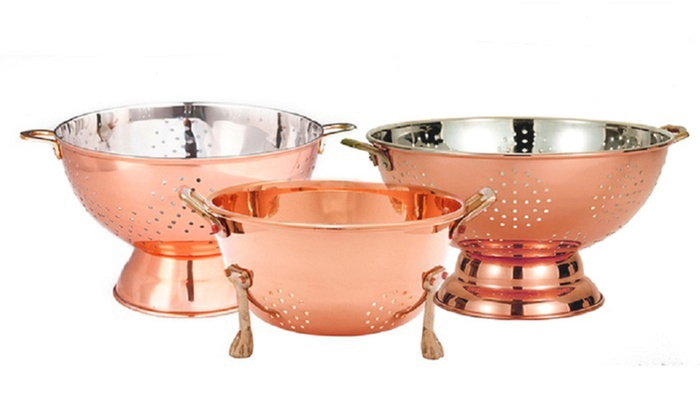 Old Dutch Copper Colanders