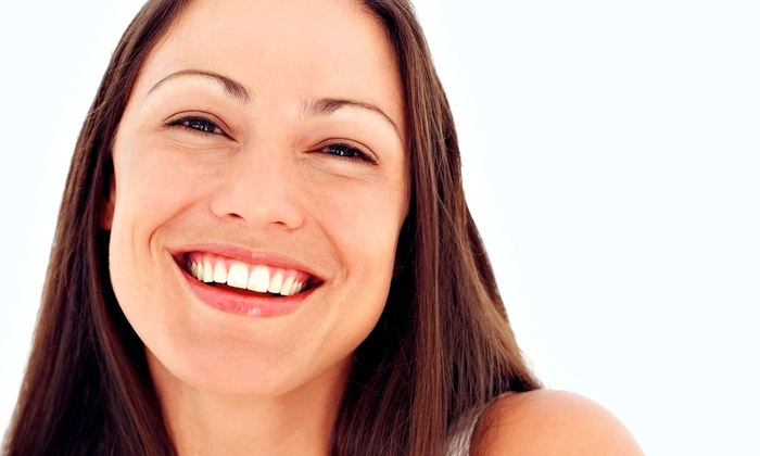 New Image Laser Skin Center - Diagnostic Center: Laser Teeth-Whitening Treatment with Optional Take-Home Whitening Pen at New Image Laser Skin Center (Up to 75% Off)