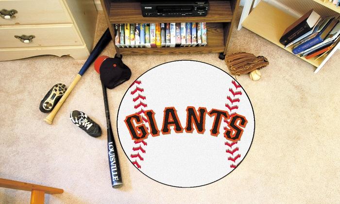 San Francisco Giants Baseball Mat: San Francisco Giants Baseball Mat