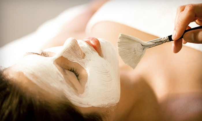 Skin Station - Multiple Locations: Organic Facial, 60-Minute Deep-Tissue Massage, or Both at Skin Station Spa (Up to 64% Off)