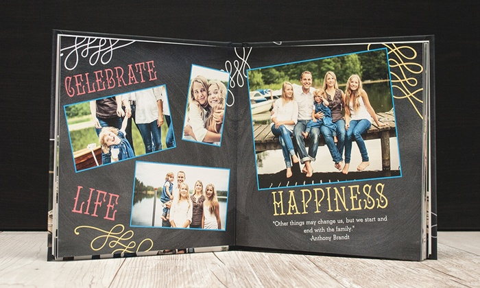 Mixbook: Custom Hardcover Photo Book from Mixbook (Up to 57% Off). Three Options Available.