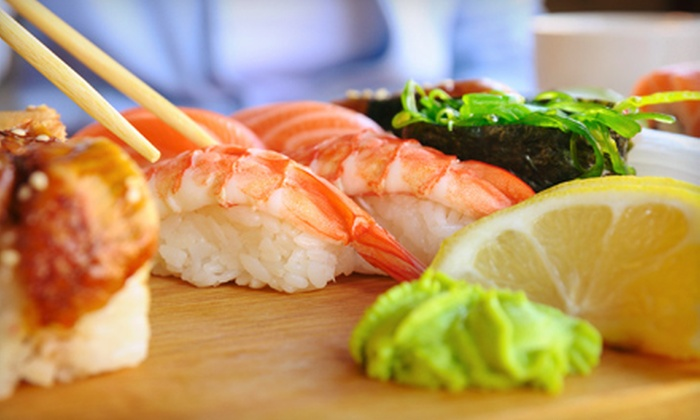 Mikado Japanese Cuisine - Metro West: Sushi and Japanese Food at Mikado Japanese Cuisine (Up to 52% Off). Two Options Available.