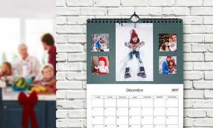 1, 2 ou 3 calendriers personnalisés format portrait A4 avec Printerpix dès 2,95 € (jusqu'à 89 % de réduction)