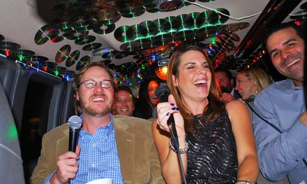 Two-Hour Karaoke-Cab Ride for Up to 7 or 11 from Party on 4 Wheels (50% Off)