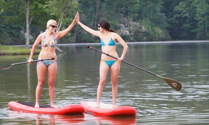 Local Paddler - Multiple Locations: Two-Hour Standup-Paddleboarding Class for One, Two, Four, or Eight from Local Paddler (Up to 62% Off)