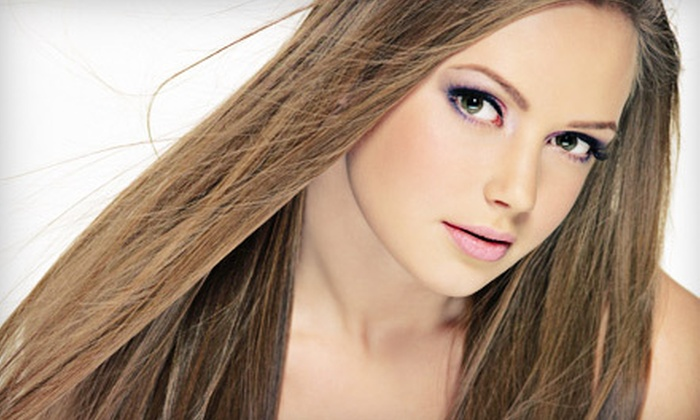 Classic Salon - Lake Wylie: Cut-and-Style Package with Moroccanoil Hair Mask or Partial Highlights at Classic Salon in Lake Wylie (Half Off)