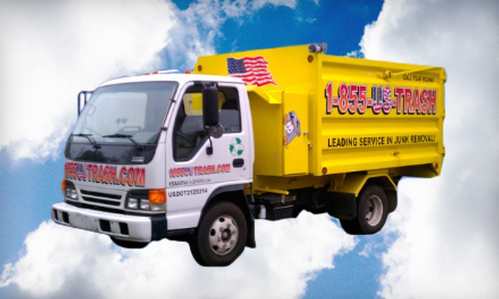 U.S. Trash - Detroit: 2 or 3 Cubic Yards of Junk Removal from U.S. Trash (Up to 76% Off)