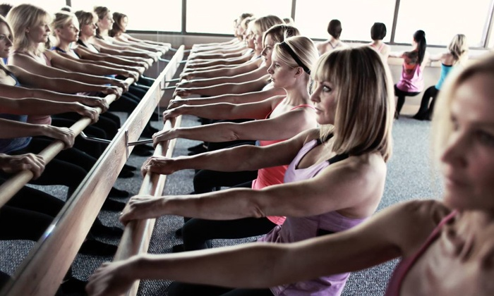 Pure Barre - Pure Barre (Santa Monica): 5 or 10 Barre Fitness Classes or Month of Unlimited Barre Fitness Classes at Pure Barre (Up to 59% Off)