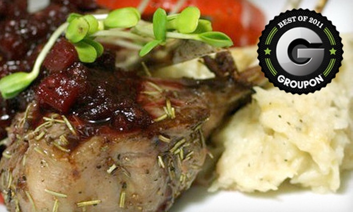 Main Street Cellar Wine Bar - Manotick - North Gower: Seasonal Fare and Drinks at Main Street Cellar Wine Bar (Up to 60% Off). Two Options Available.