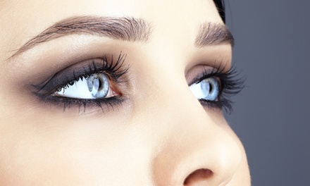 Full Set of Mink or Synthetic Eyelash Extensions with Option for a Fill-In After Two Weeks (Up to 67% Off)