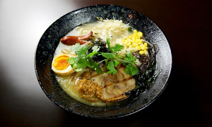 Oolong Noodles - Financial District: $19 for $30 Worth of Japanese Food for Two at Oolong Noodles