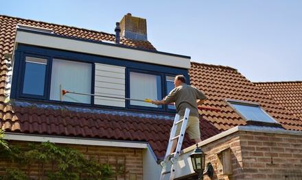 Exterior Window Cleaning for a 3,000 or 4,000 Sq. Ft. House from 4 Seasons Window & Blind Cleaning (51% Off)