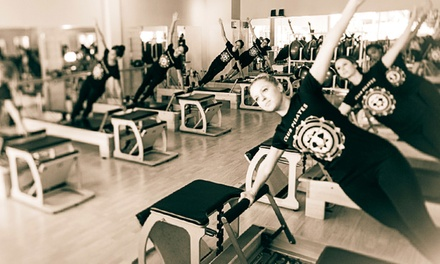 Five Pilates Classes or One Month of Unlimited Classes at Club Pilates (Up to 66% Off)
