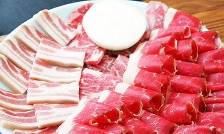 Barbecue for Dinner or Lunch at Palace Korean Bar & Grill (Up to 40% Off)
