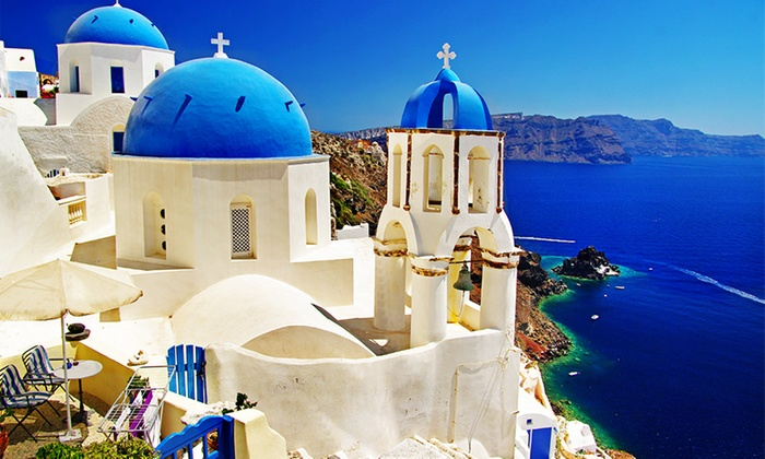 ✈ 8- or 10-Day Greece Vacation with Hotels and Air from