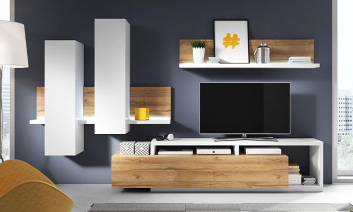 Scandi Stil Wohnzimmer Set ...