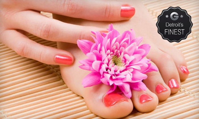 Beyond Nails - Livonia: One or Three No-Chip Manicures or One Pedicure at Beyond Nails (Up to 63% Off)