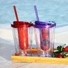 $13.99 for a 2-Pack of 16 Oz. Fruit-Infuser Tumblers