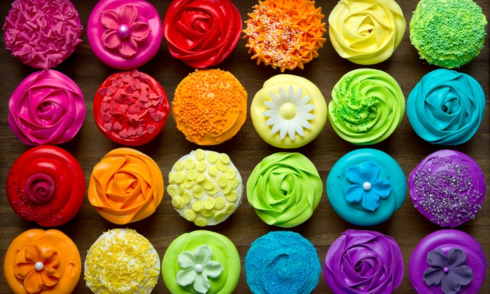 America's Biggest Cupcake Decorating Event - Central Business District: Cupcake-Decorating Classes at America's Biggest Cupcake Decorating Event (50% Off). Four Options Available.