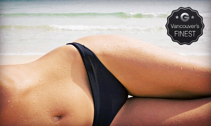 Pink Lime Salon & Spa - Downtown Vancouver: $79 for Three Ladies' Brazilian Waxes at Pink Lime Salon & Spa ($165 Value)