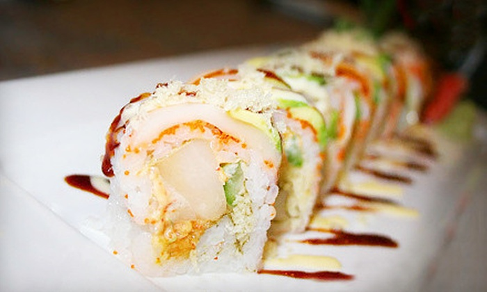 Plum House - Monroe Avenue: Japanese Cuisine for Two or Four at Plum House (Half Off)