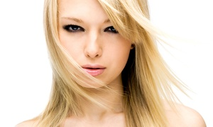 Jim Speck: Cut and Style with Optional Highlights or Color, or Hair Smoothing from Jim Speck (Up to 62% Off)