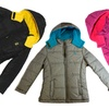 IZOD Infant, Toddler, and Girls' Classic Two-Tone Puffer Jacket