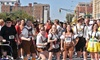 Sankt Nikolaus Lauf - Downtown Indianapolis: Entry for One or Two Participants in the Lederhosen 5K Run/Walk on Saturday, October 12 (Up to 58% Off)