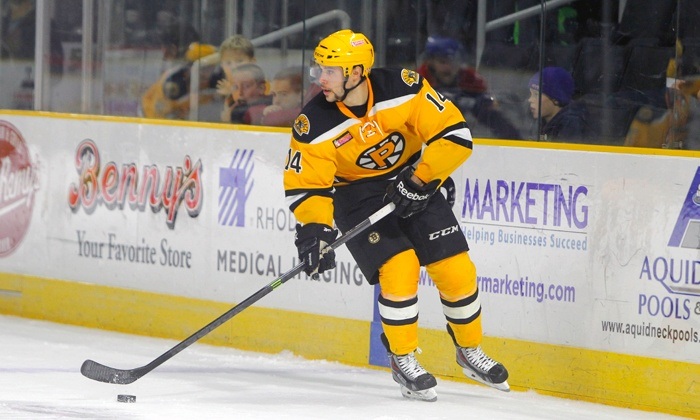 Providence Bruins - Dunkin' Donuts Center: $17 for a Regular-Season Providence Bruins Hockey Game at Dunkin' Donuts Center (Up to $38 Value)