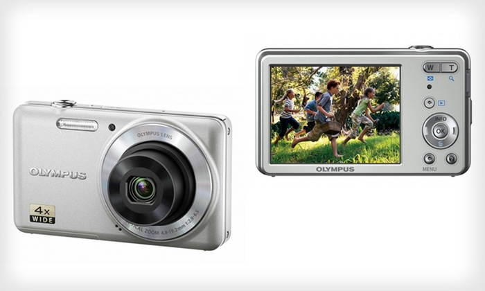 Olympus 12 MP Digital Camera: $65 for an Olympus 12-Megapixel Digital Camera with 4x Zoom and LCD Screen ($138 List Price). Free Shipping and Returns.